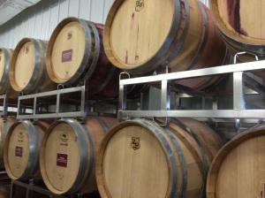 July 2014_Wine barrells