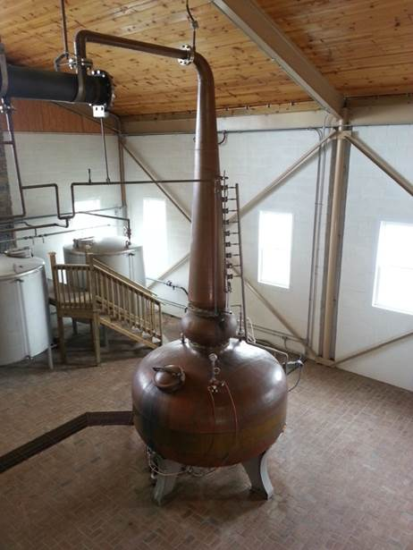 Pot Still from Willett Distillery