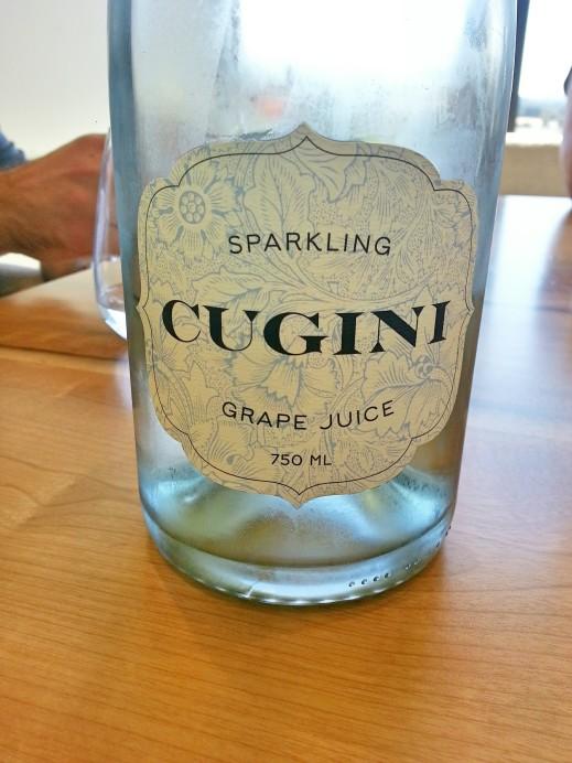 Cugini Sparkling Grape Juice by Ponzi Vineyards