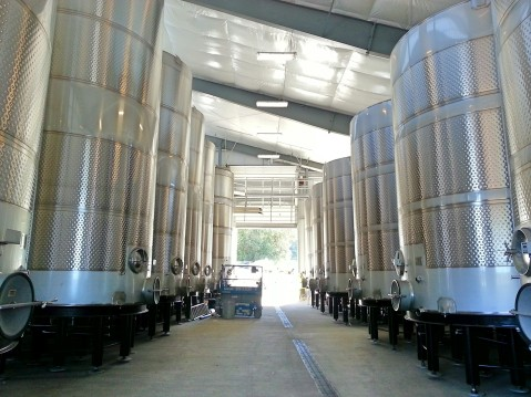 The addition to A to Z Vineyards production facilities.