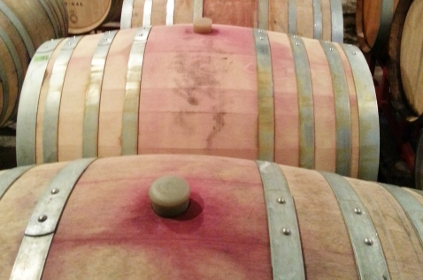 It is essential to clean and sanitize your wine thief in between sampling from barrels. Photo from: Denise M. Gardner