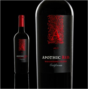 Apothic Red is a red blend with a sensory goal of obtaining black cherry, vanilla, and mocha flavors in the wine on a year-to-year basis. There are 4 different red wine varieties that contribute to this red blend.